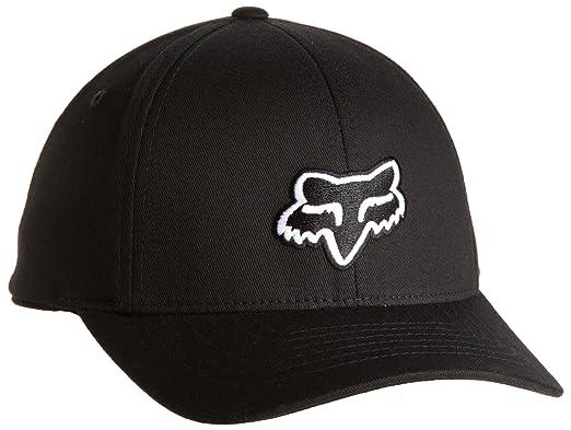 FOX Big Boys' Legacy Hat, Black, One Size