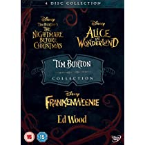Tim Burton 4 Pack DVD: Amazon.es: Cine y Series TV