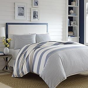 Nautica Fairwater Comforter Set, Full/Queen, Blue