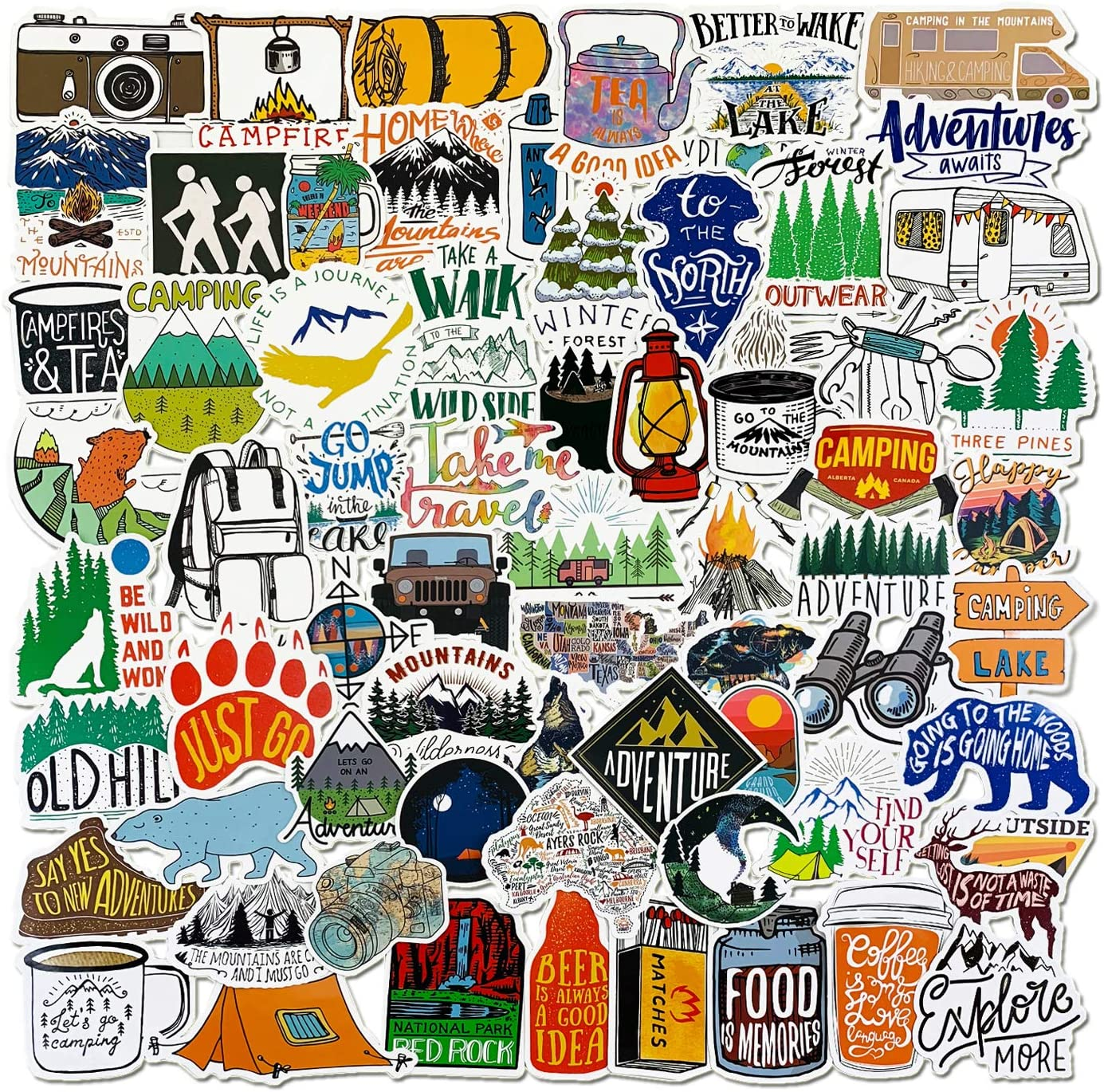 Mesa Verde National Park Sticker Vinyl Shield Wilderness Nature Outdoors Hiking Camping Travel Adventure Gift Stickers Waterproof RV Trailer Car Luggage Decal