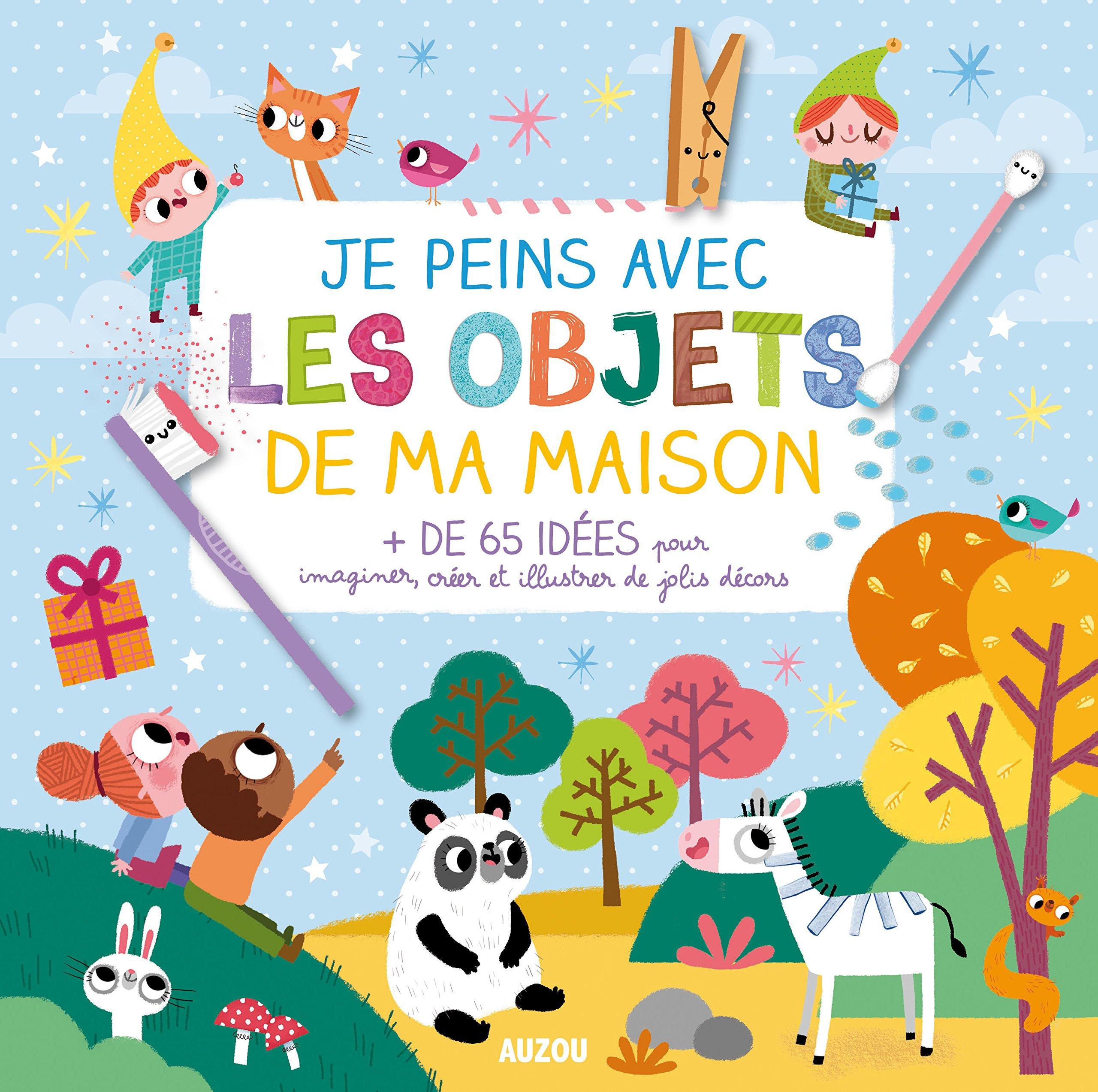 Amazon In Buy Je Peins Avec Les Objets De Ma Maison Coll