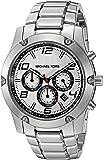 Michael Kors Men's Caine Silver-Tone Watch MK8472