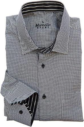 Marcello Sport Camisa de vestir de manga larga para hombre ...
