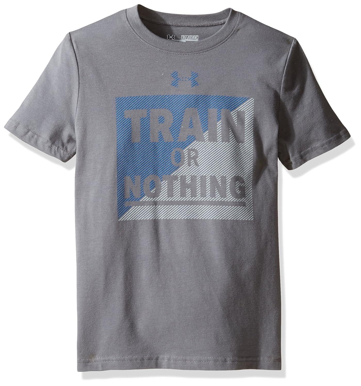 Under Armour Boys Train Or Nothing Short Sleeve Tee