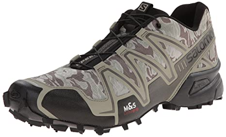 Salomon Speedcross 3 Camo Shoes, Men's 8 UK (TitaniumSwam)