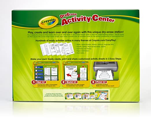 Workbook customizable handwriting worksheets : Amazon.com: Crayola Dry Erase Activity Center: Toys & Games