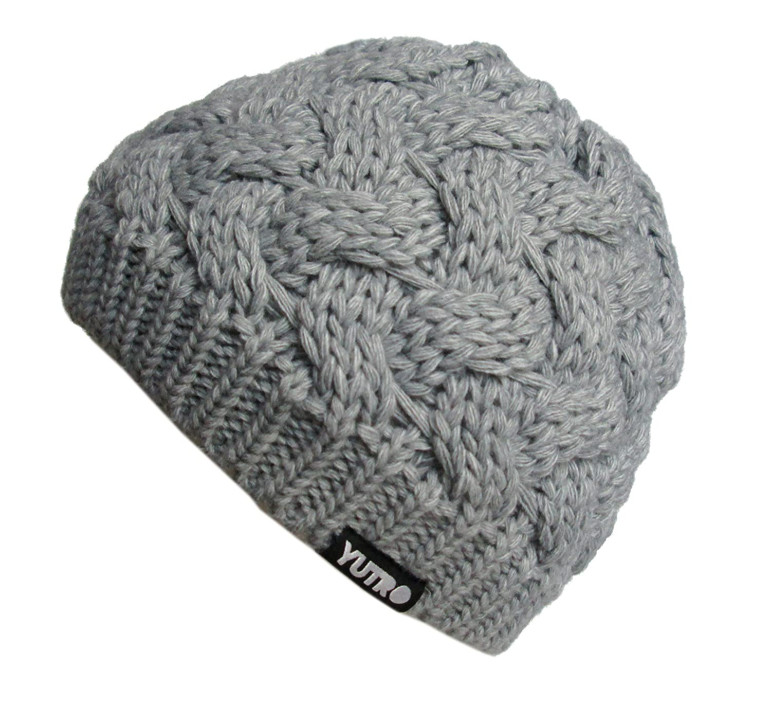 YUTRO Fashion Womens Winter Classic Cable Wool Knitted Beanie Hat