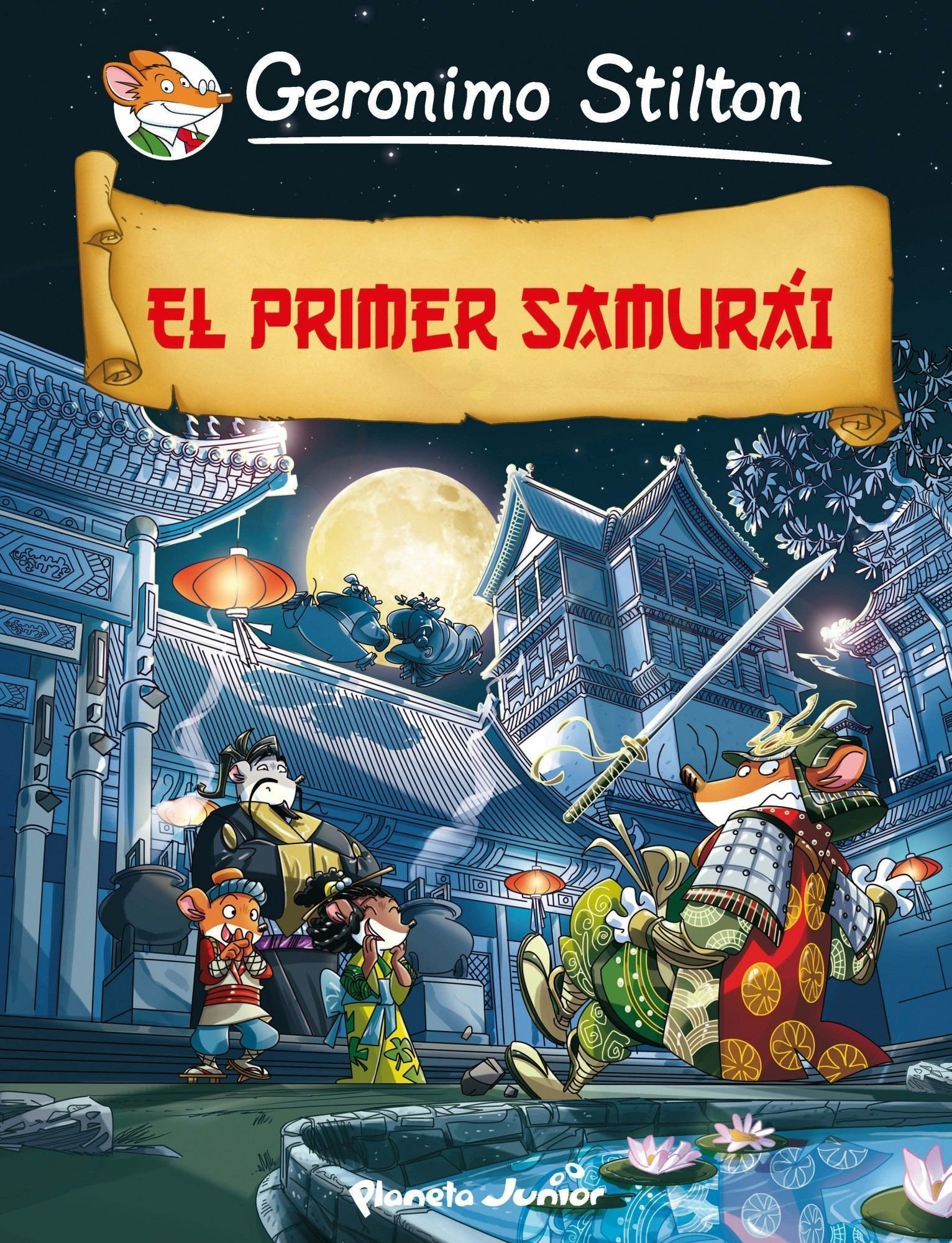 El primer samurái (Cómic Geronimo Stilton): Amazon.es: Stilton ...