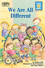 We Are All Different (All-Star Readers) Kindle Edition
