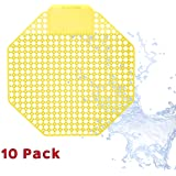 Urinal Screen Deodorizer (10 Pack) - Scent Lasts for Up to 5000 Flushes –
