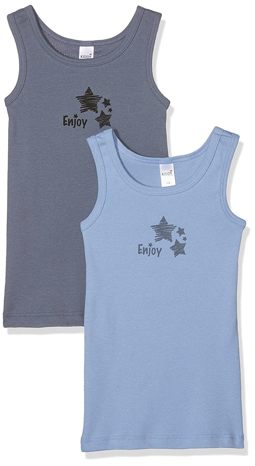 HUBER Jungen Top Boys Tank Dp Grey (Grey/Mix 014053) 98 014186