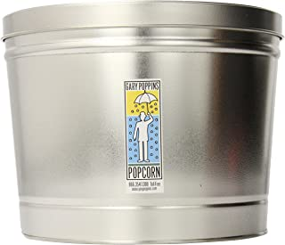product image for Gary Poppins Popcorn Aged White Cheddar Popcorn, Tin, 2 Gallon