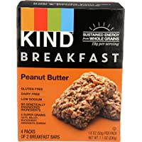 KIND Breakfast Bar, Peanut Butter, 1.8oz 4 Count, 7.1oz