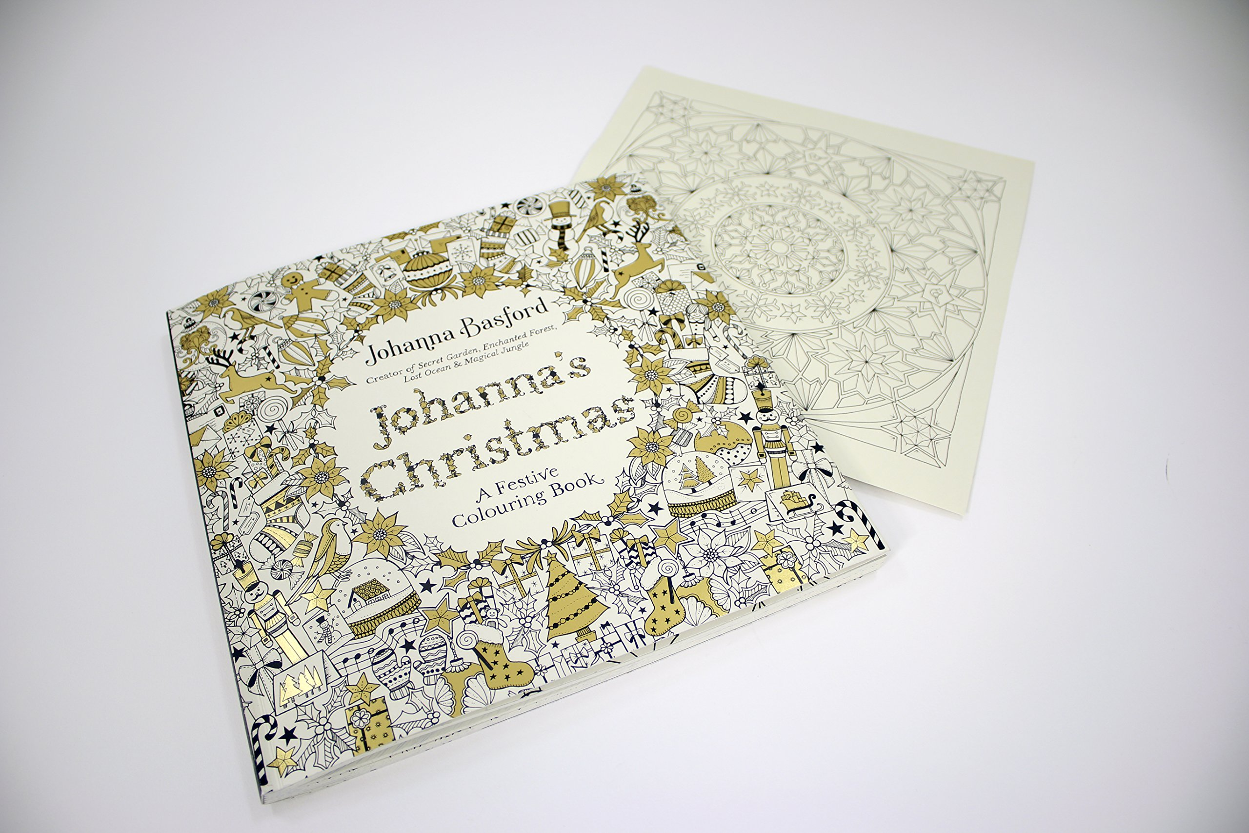 johanna u0027s christmas a festive colouring book colouring books