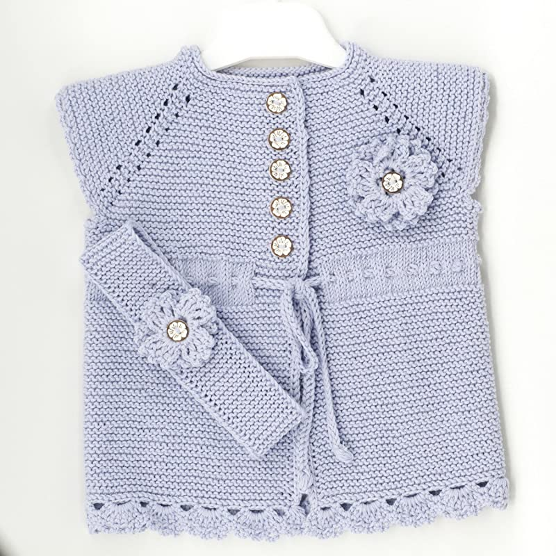 Girls 3 Piece Knitted Jam Sets