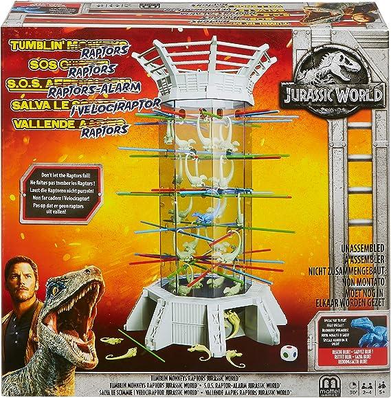 Mattel Spiele FLK75 S.O.S. Raptor-Alarm: Amazon.es: Juguetes y juegos