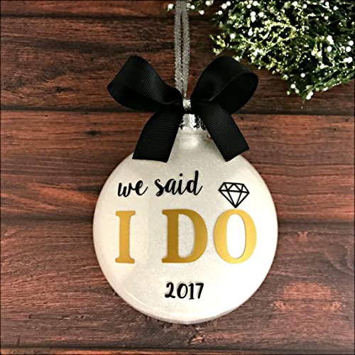 Amazon.com: Wedding Ornament 2017, Wedding Christmas Ornaments ...