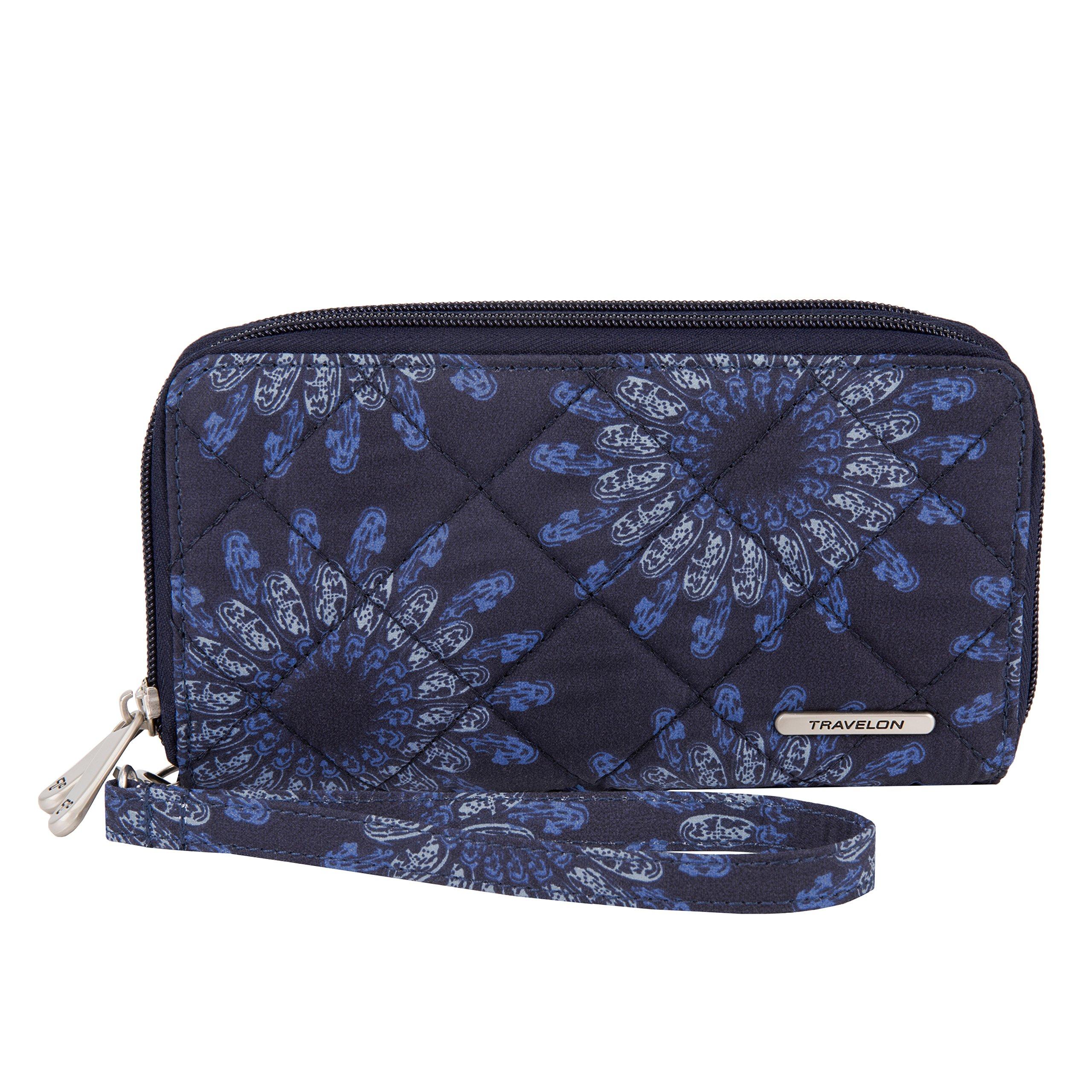 Travelon Women's Boho Ladies Wallet, Geo Sunflower by Travelon (Image #1)