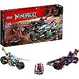 LEGO UK 70639 NINJAGO Street Race of Snake Jaguar Cool Toy for Kids