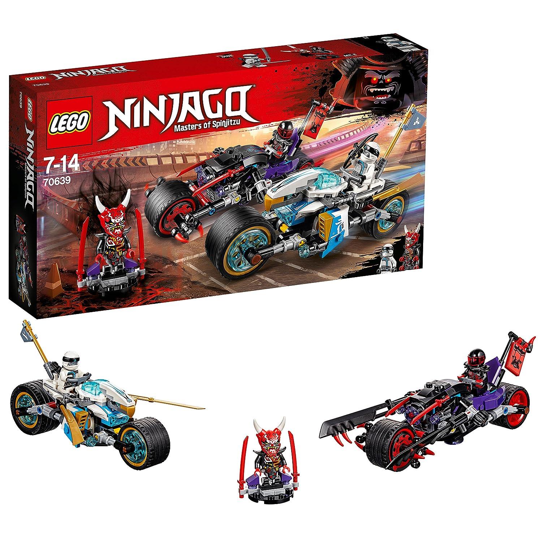 LEGO La Course de Rues en Motos Ninjago Jeu de Construction, 70639