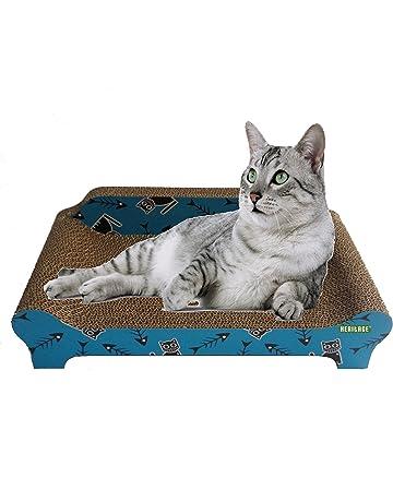 Heritage cartón B84Fishbone sofá gato rascador arañazos para cama sofá Lounge gratis y diseño de gato