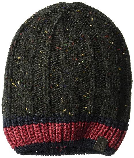 Amazon.com  Original Penguin Men s Flecked Cable Knit Beanie 9c0787a4189