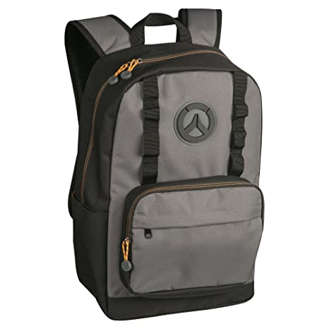 2cb6012b9b0f Amazon.com  JINX Overwatch Payload Backpack (Black Grey