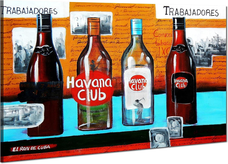 Cuba Havana Club Party - 60x90 - pintura al óleo Lienzo ...