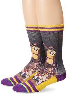 James Worthy L.A. Lakers de la postura hombres calcetines