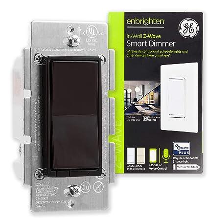 Amazon.com: GE Enbrighten Z-Wave Plus Smart Light Switch ...