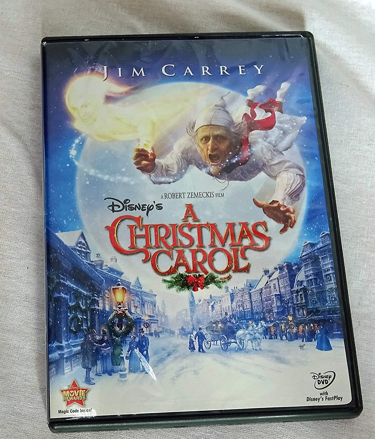 A Christmas Carol [DVD] by Jim Carrey: Jim Carrey, Steve Valentine ...