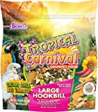 "F.M. Brown's Tropical Carnival Gourmet Large Hookbill Food for Parrots, Cockatoos and Macaws Over 13"", Vitamin-Nutrient Fortified Daily Diet, 5lb"