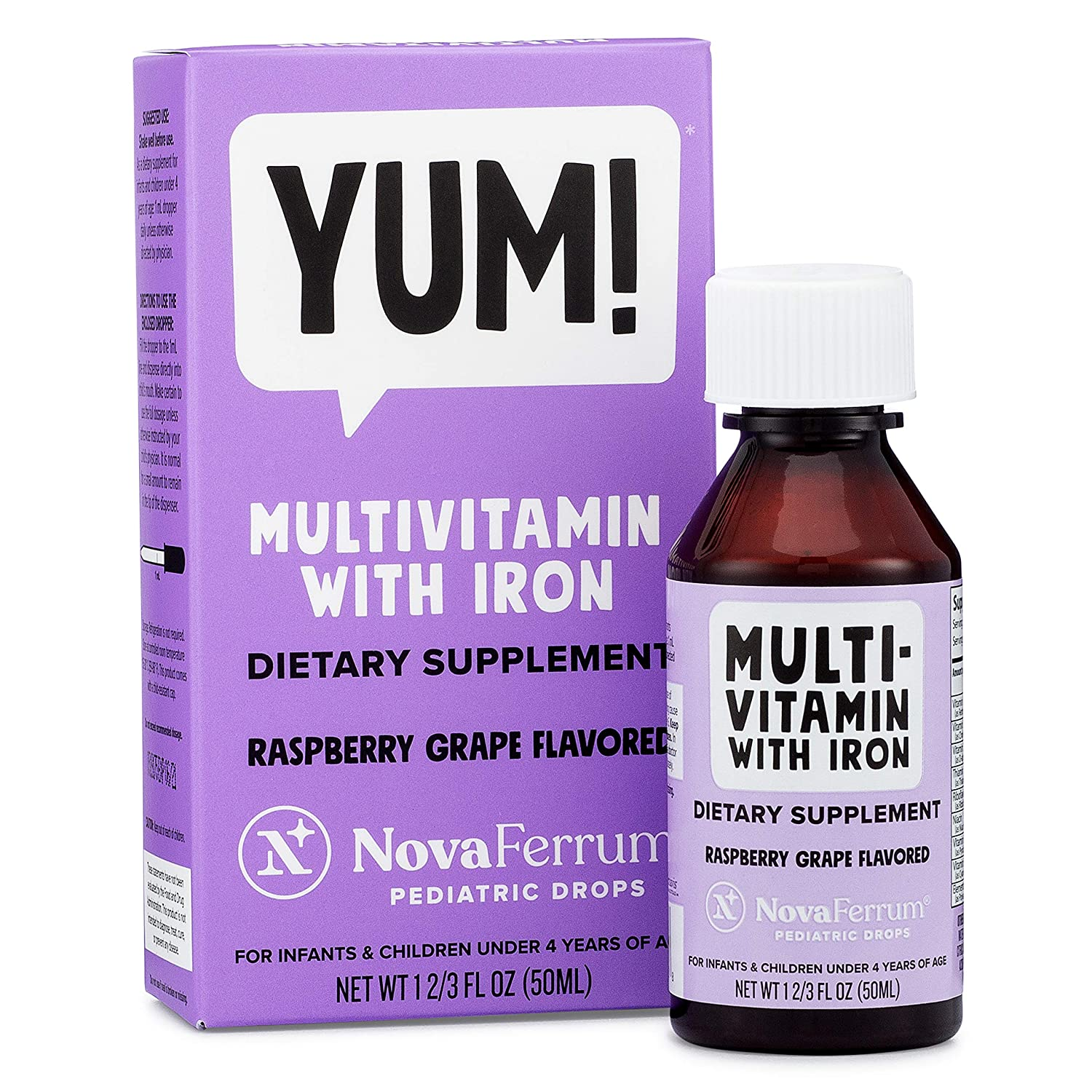 NovaFerrum Iron Multivitamin Infants