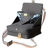 roba Boostersitz, mobiler aufblasbarer Kindersitz als Sitzerhöhung und praktisch für Reisen