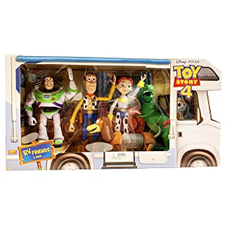 Toy Story 4 RV Friends 6 Pack of Action Figures