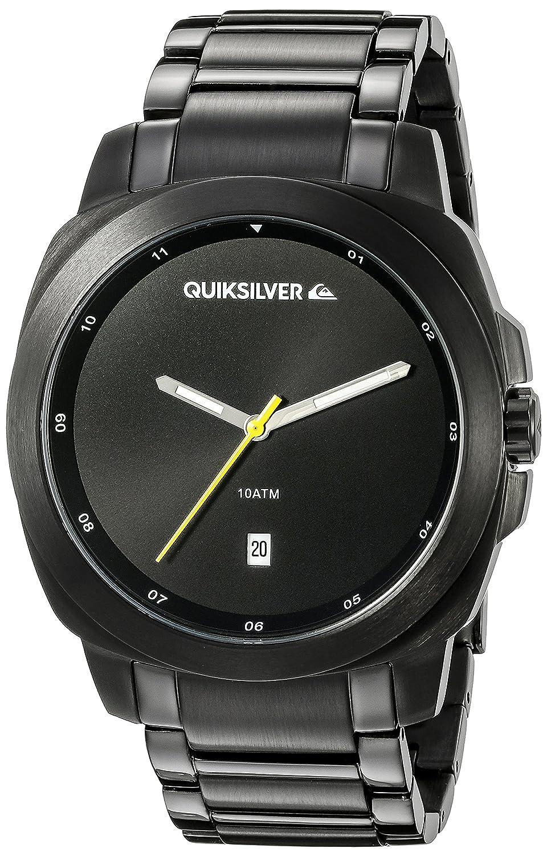Quiksilver Herren-Armbanduhr The Sovereign Analog Edelstahl Schwarz QS-1005BKTI