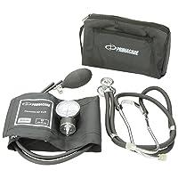 Primacare DS-9181-BK Professional Blood Pressure Kit, Includes Aneroid Sphygmomanometer...