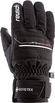 Skihandschuhe Farbe Reusch Reusch Snow Desert GTX® Wasserdicht Black//White