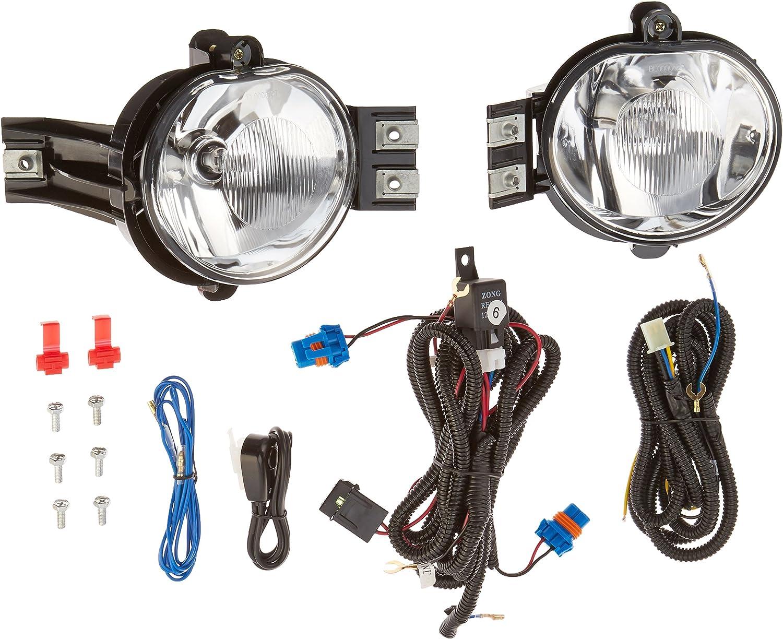 94-01 DODGE RAM BLACK CRYSTAL HEAD LIGHT W//FOG LAMP+50W 6000K HID 1500 2500 3500