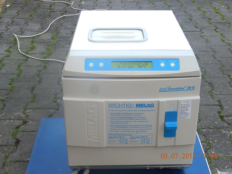 Tipo MELAG EUROKLAV: 23 V-S modelos: 2001 con bandeja ...