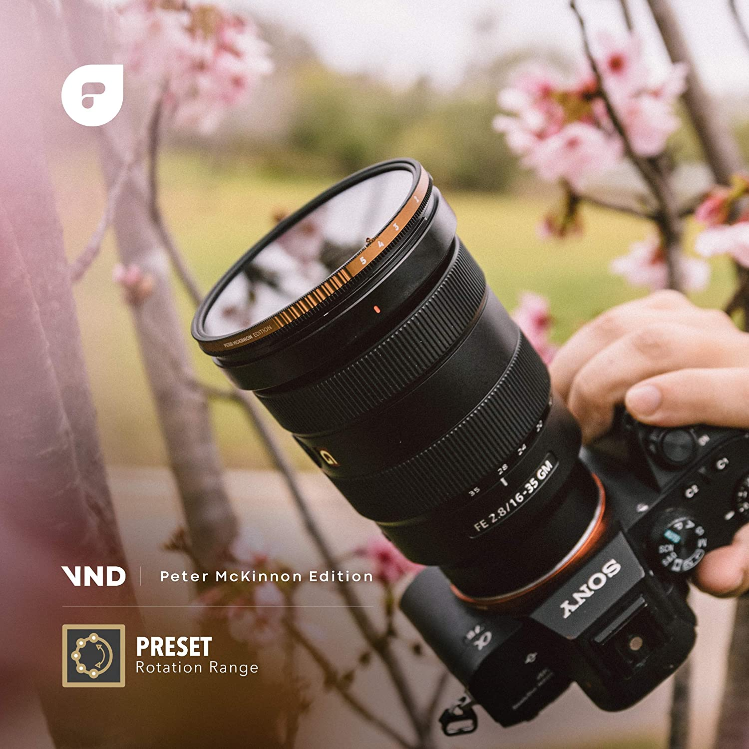 PolarPro 82mm Variable ND Filter (2 to 5 Stop) - Peter McKinnon Edition