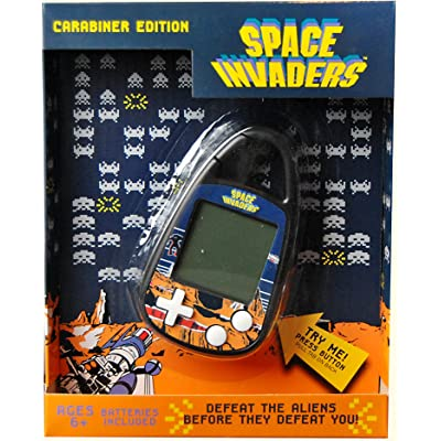 Basic Fun Space Invaders Electronic Carabiner: Toys & Games