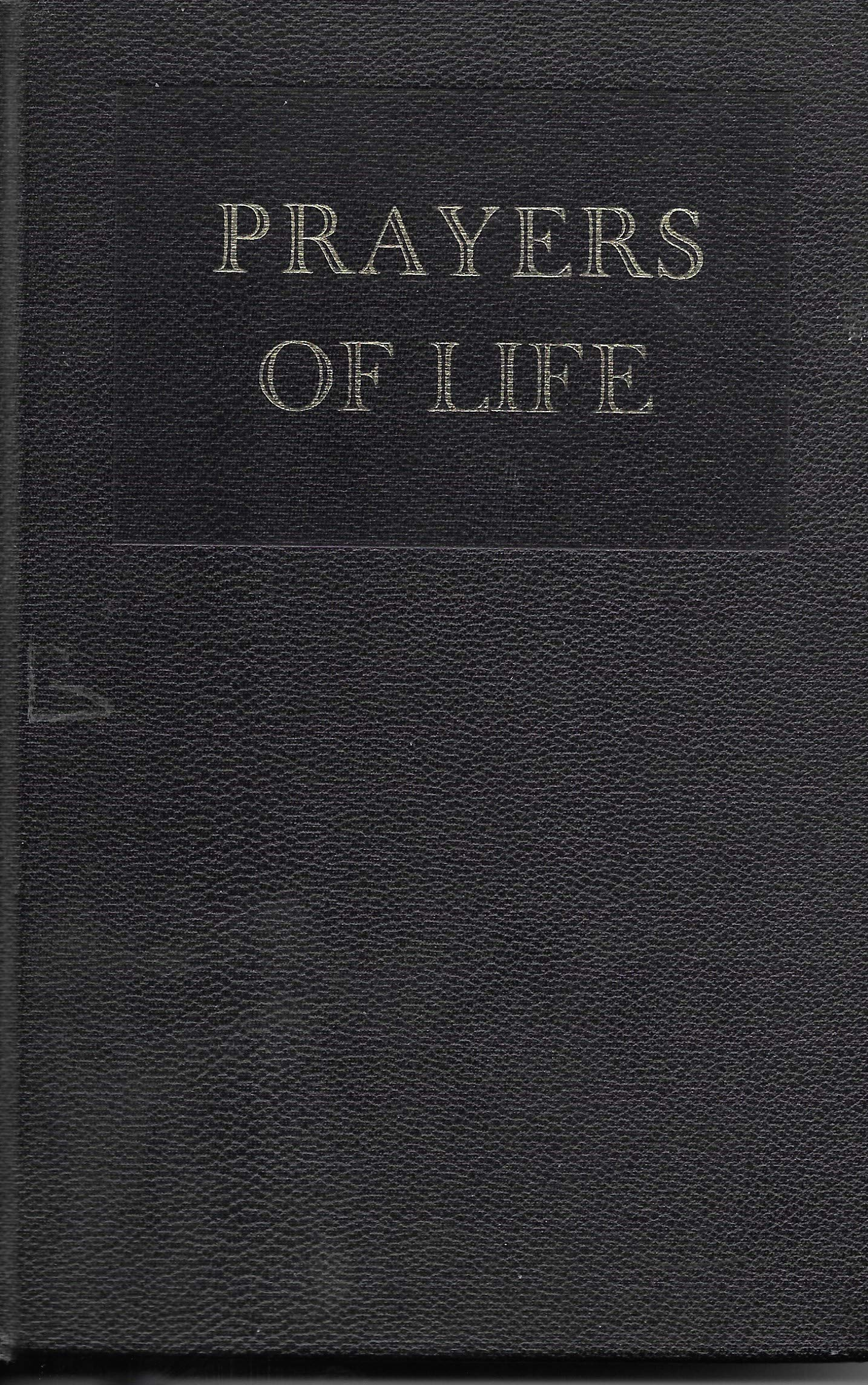 Amazon In Buy Prayers Of Life Logos Books Book Online At Low Prices In India Prayers Of Life Logos Books Reviews Ratings