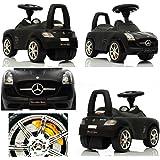 Jouets ? tirer Trotteur Porteur Baby Car ARTI Mercedes SLS AMG 332P Black Paint / Noir Ride-On Activity Toy