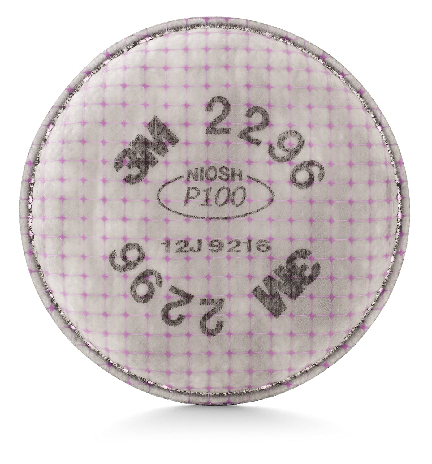 3M Advanced Particulate Filter 2296, P100, with Nuisance Level Acid Gas Relief