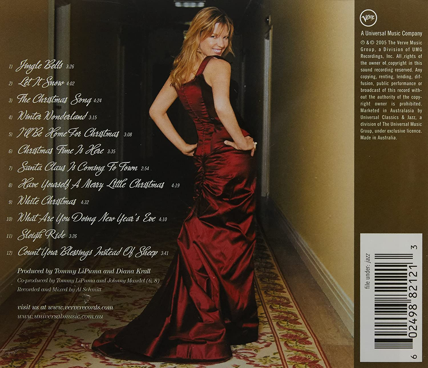 Christmas Songs - Diana Krall: Amazon.de: Musik
