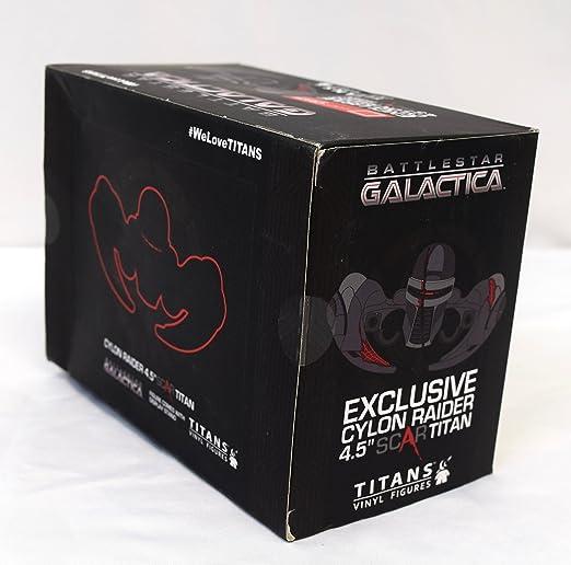Scar Vinyl Replica Battlestar Galactica Cylon Raider