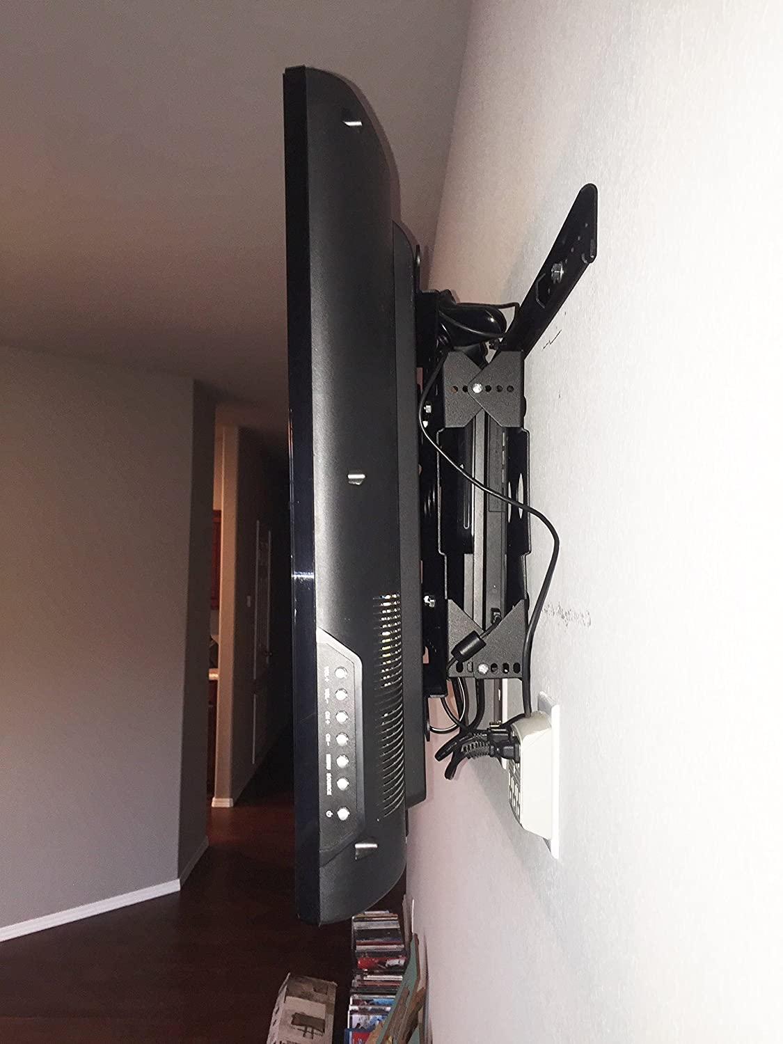 "Amazon.com: Innovative Americans 56"" to 85"" TV Mount with Cable DVR  Satellite Box Indoor Outdoor TV Wall Mount Kit VESA 200 x 200mm to 600 x  800mm, Tilt, ..."