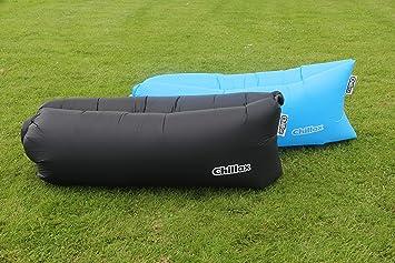Nueva rápido hinchable saco de dormir Lazy aire Hangout tumbona cama Camping playa Aire saco de