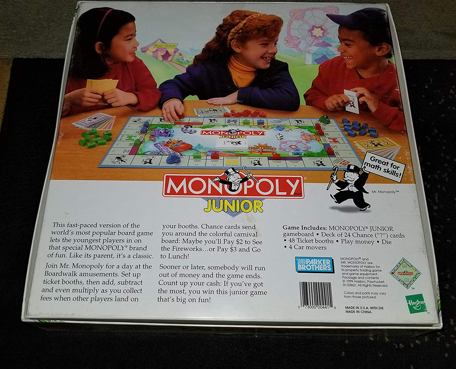 Monopoly Junior-RARE-Parker English Edition 1999: Amazon.es: Juguetes y juegos